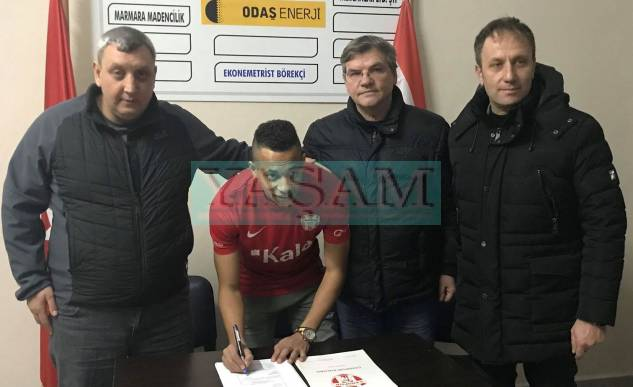 MAHMOUD REDA SALEH Y.ÇANSPOR'DA